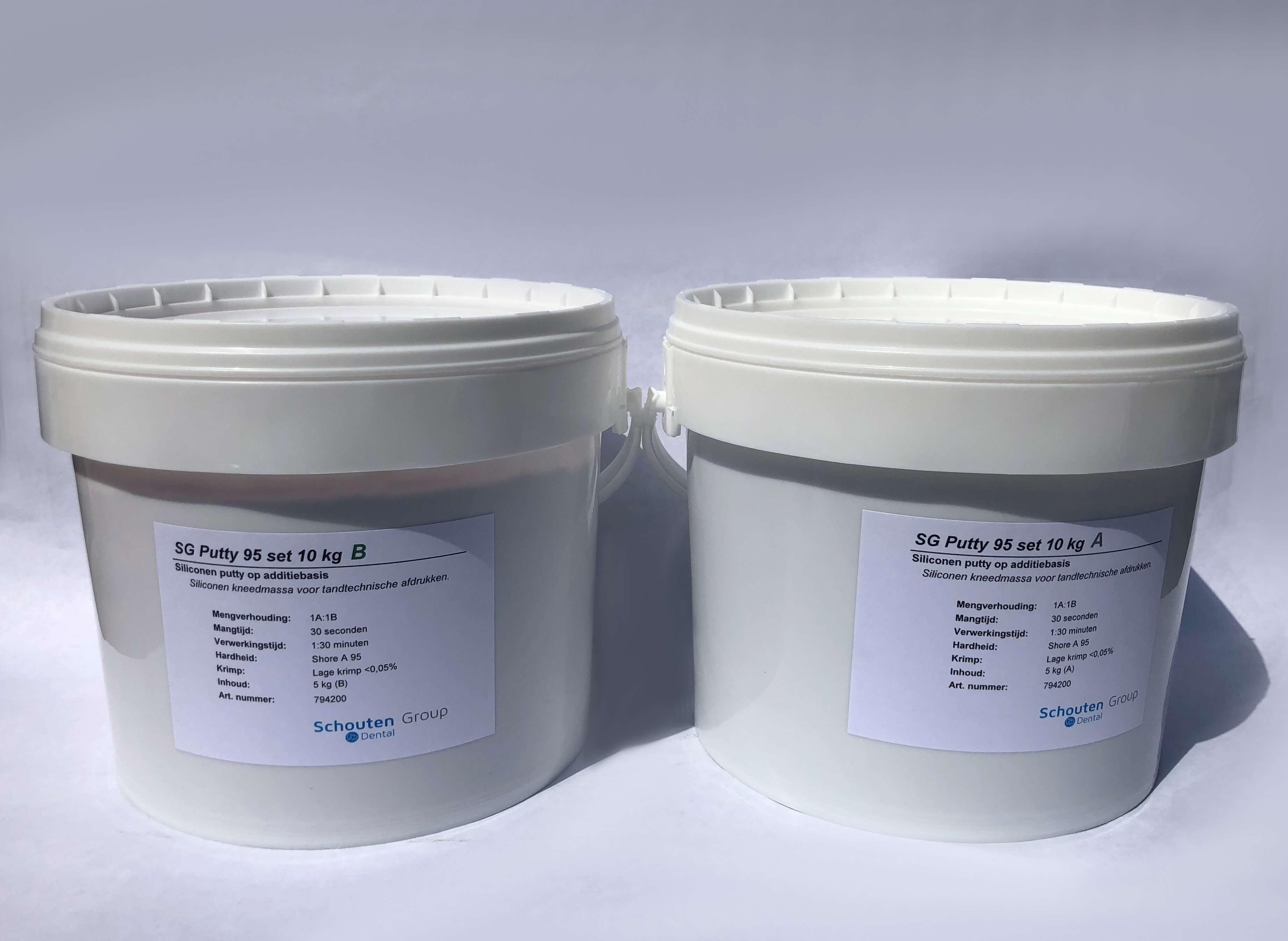 SG Putty 85 kneadable addition silicone - sgdentalshop com